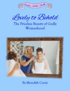 Lovely to Behold by Meredith Curtis