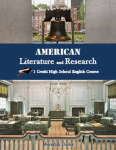 American Literature and Research by Meredith Curtis