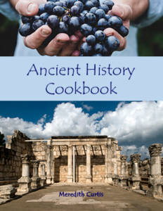 Ancient History Cookbook by Meredith Curtis