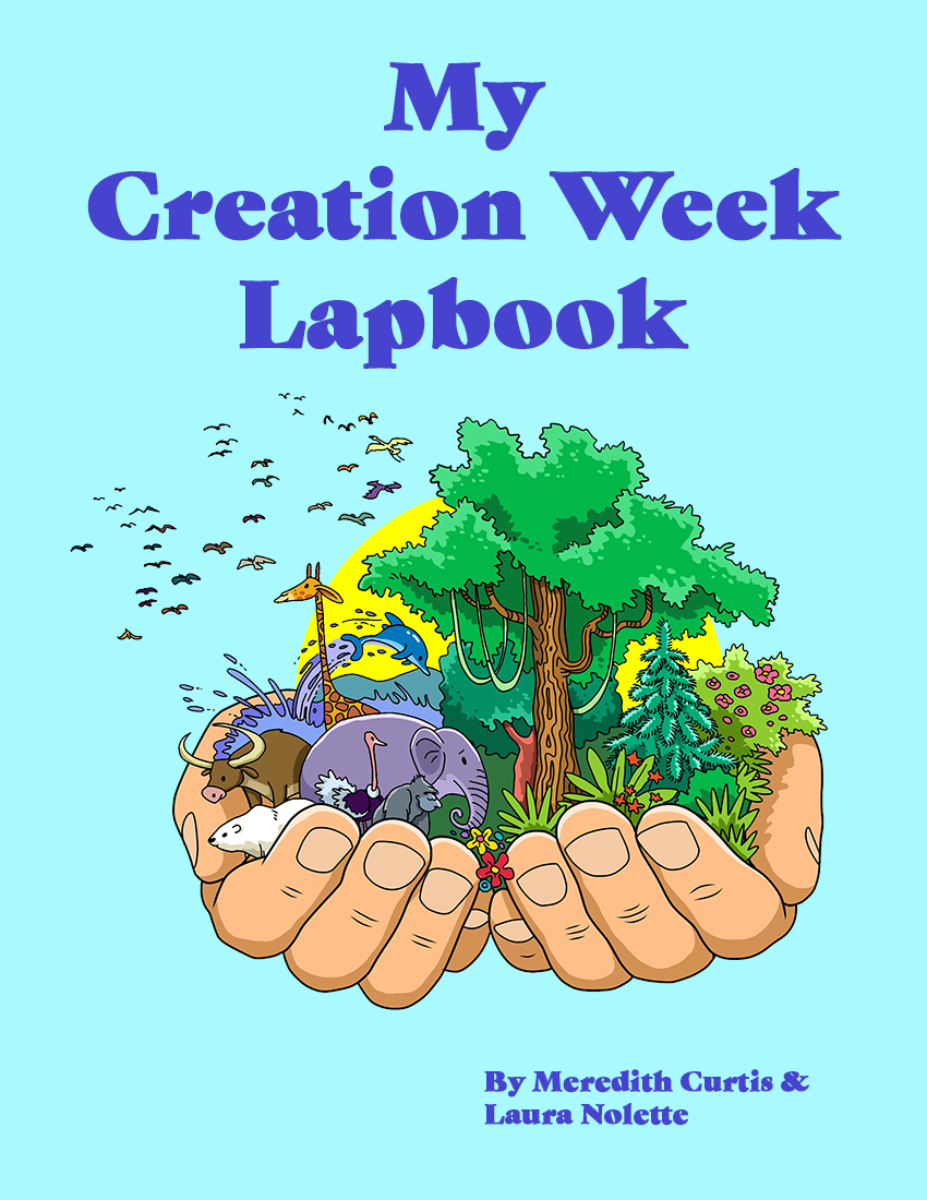 My Creation Week Lapbook by Meredith Curtis and Laura Nolette