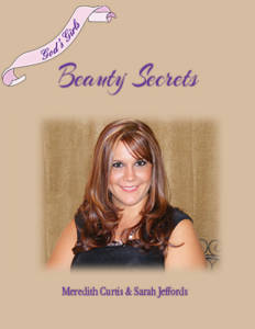 God's Girls Beauty Secrets by Meredith Curtis and Sarah Jeffords