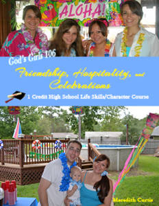 God's Girls 106: Friendship, Hospitality, & Celebrations by Meredith Curtis