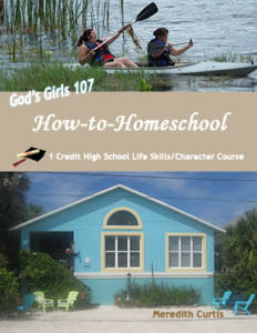 God's Girls 107:How to Homeschool by Meredith Curtis