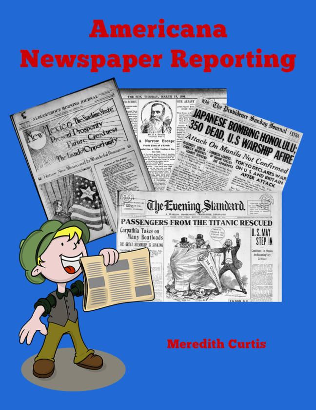 Americana Newspaper Reporting by Meredith Curtis