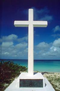 Cross Memorial at Oceanside