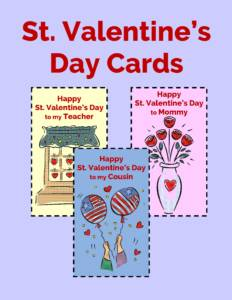 St. Valentine's Day Cards