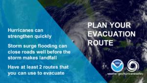 Evacuation Plan PSA