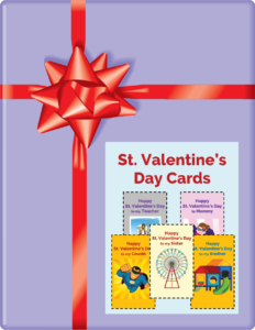 St. Valentine's Day Cards by Meredith Curtis - February 2020 Subscriber Freebie