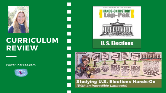 Review of The U.S. Elections Lap-Pak from Homeschool in the Woods