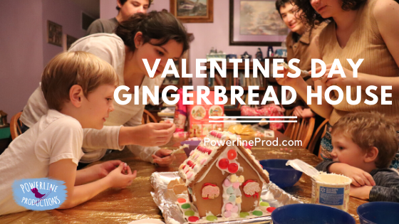 Valentines Day Gingerbread House