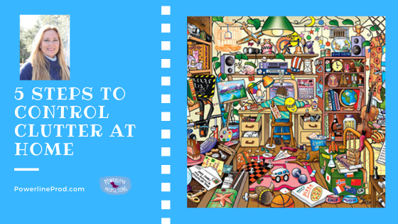 5 Steps to Control Clutter at Home