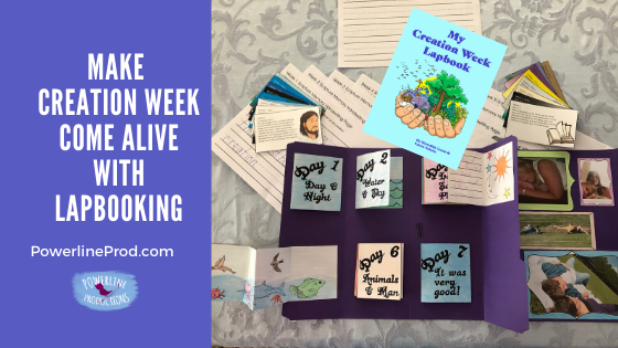 Make Creation Week Come Alive with Lapbooking