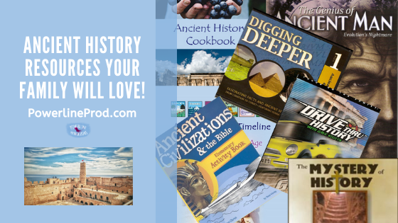 Ancient History Resources Your Family Will Love