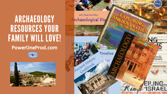 Archaeology Resources Your Family Will Love!