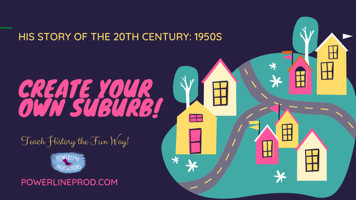 Create Your Own Suburb!