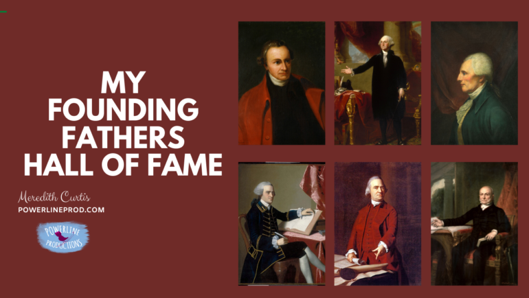 My Founding Fathers Hall of Fame
