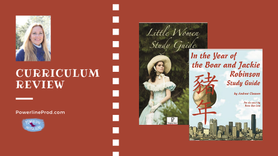 Review of Progeny Press Study Guides: Little Women & In the Year of the Boar and Jackie Robinson
