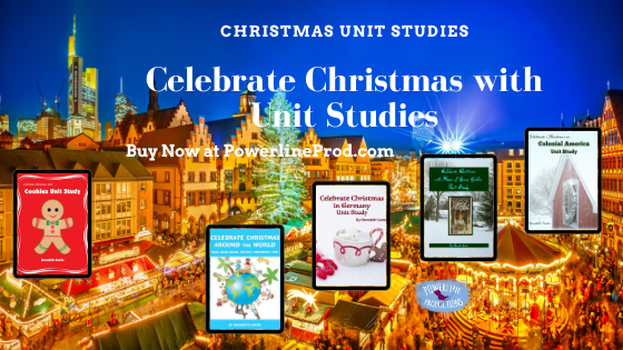 PLP Ad Celebrate Christmas with Unit Studies blog