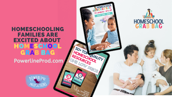Homeschool Families are Excited about Homeschool Grab Bag!