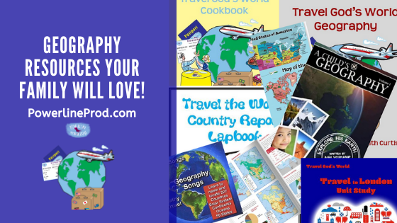 Geography Resources Your Family will Love!