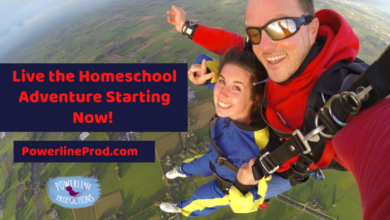 Live The Homeschool Adventure Starting Now!