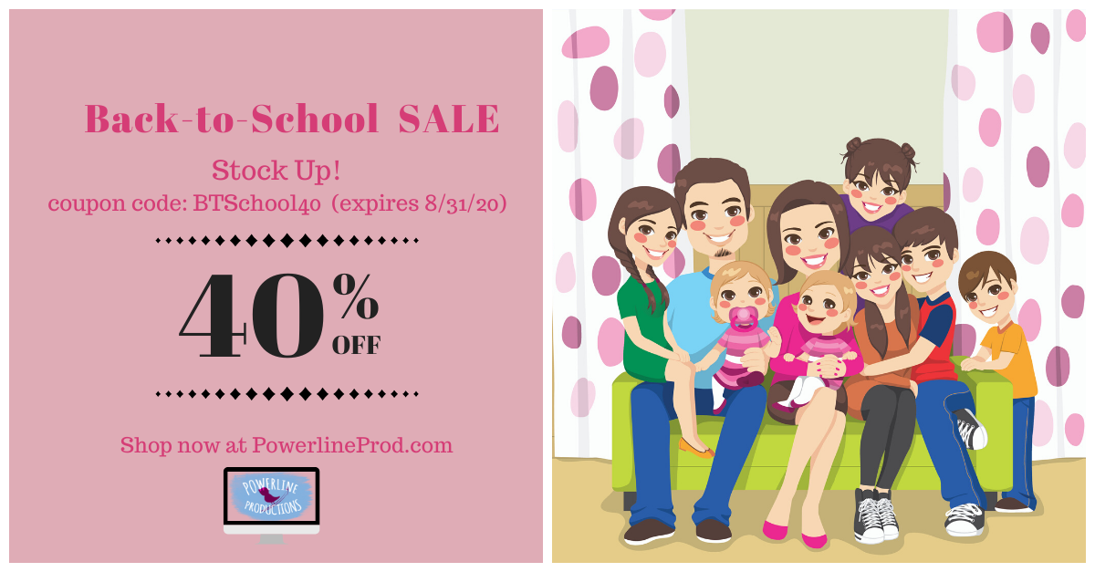 40% Off Back-to-School Sale at PowerlineProd.com
