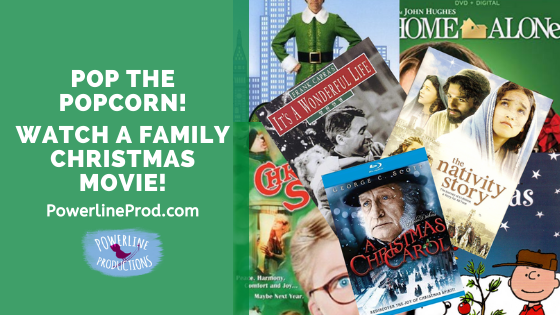 Pop the Popcorn! Watch a Family Christmas Movie!