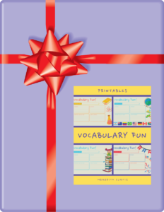 Vocabulary Fun Printables