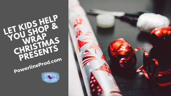 Let Kids Help You Shop & Wrap Christmas Presents