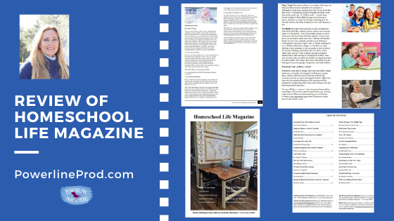 Review of Homeschool Life Magazine