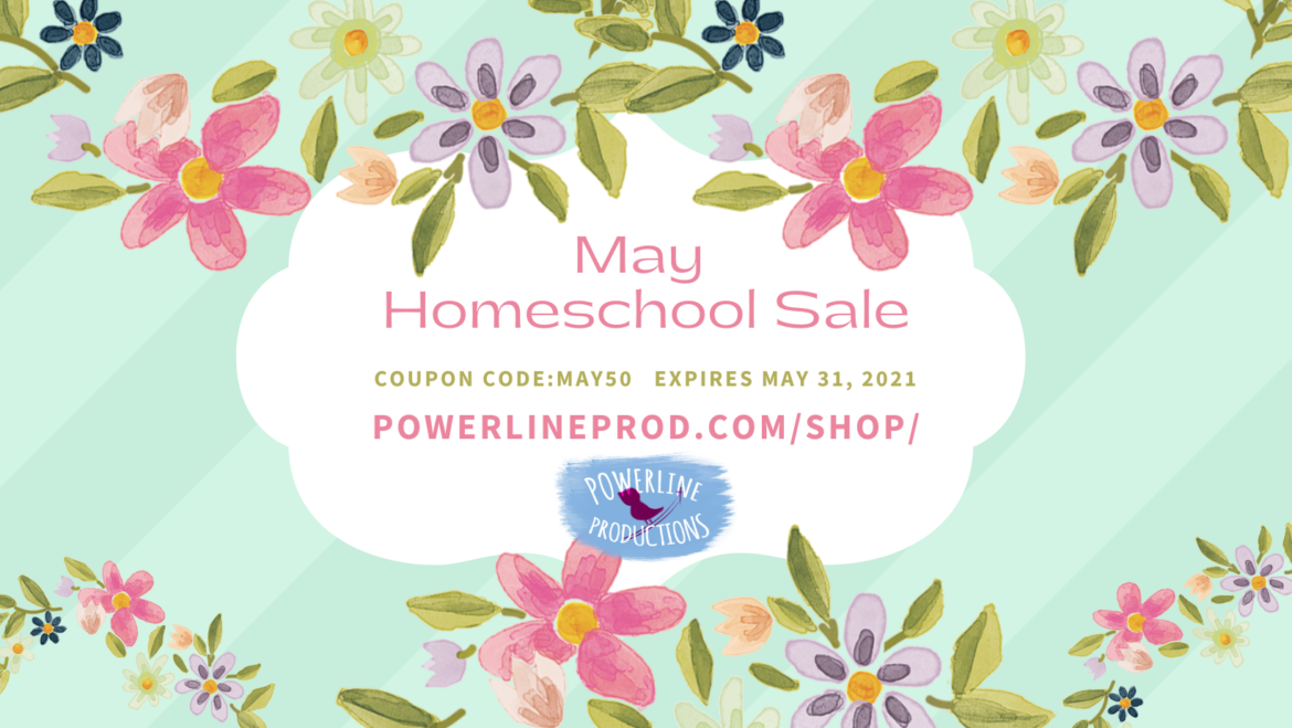 May Homeschool Sale