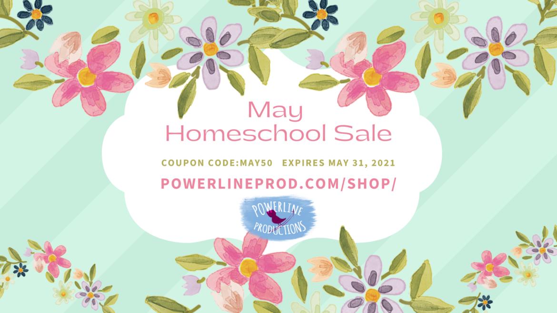 May Homeschool Sale