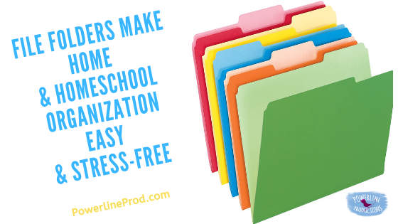 File Folders Make Home & Homeschool Organization Easy & Stress-Free