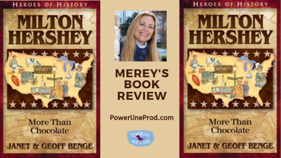 Book Review:  Milton Hershey: More Than Chocolate