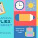 Back-to-Homeschool Supplies Cheat Sheet