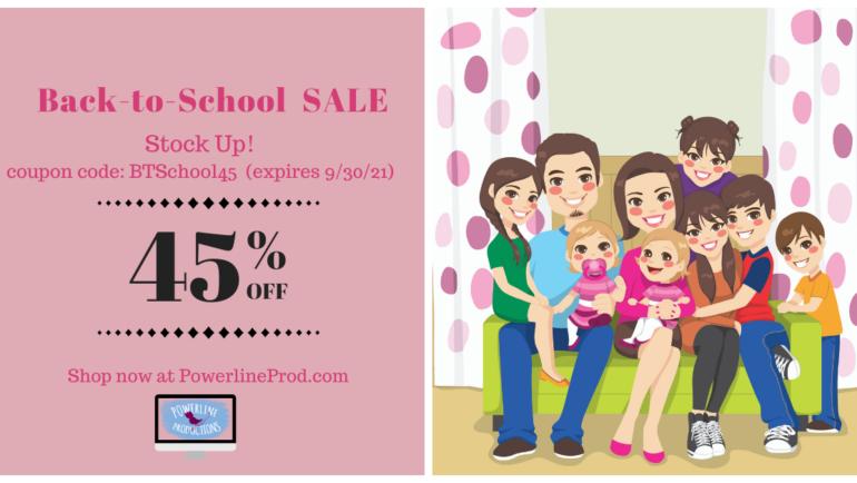 Back-to-Homeschool Sale